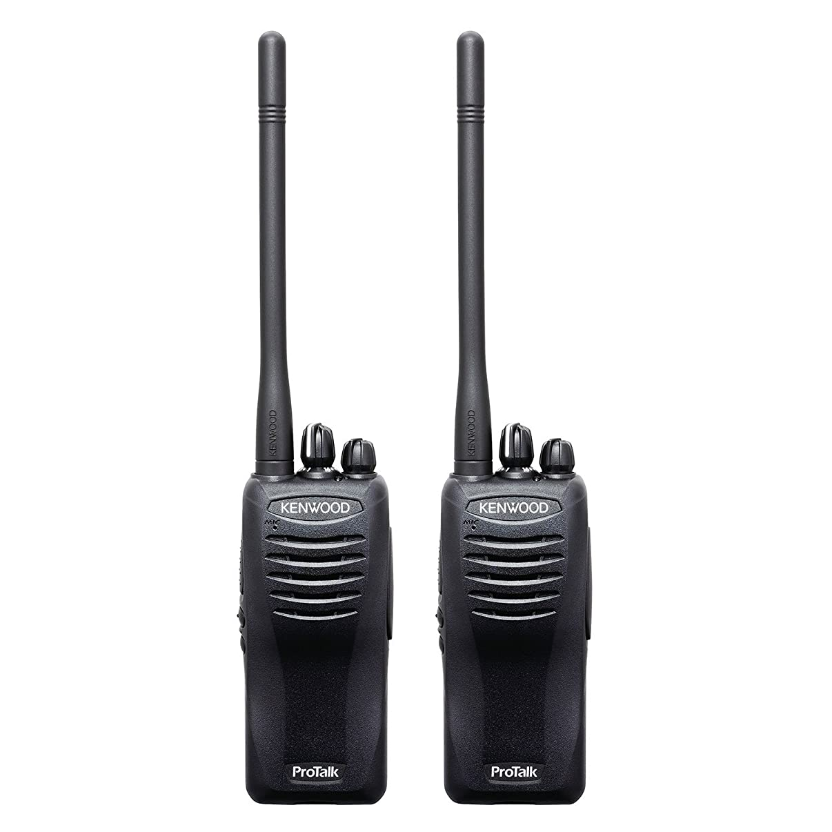 Kenwood ProTalk TK-2400V16P Compact VHF FM Portable 2-Way Radio (Pack of 2), 16 Total Channels, 2.0 Watt Output Power, 220000 Sq. Ft. / 13 Floor / 6 Mile Range