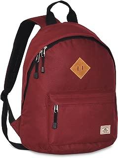 Vintage Backpack, Burgundy, One Size