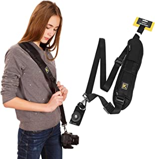 New Camera Sling Strap with Small Pocket for Lens Cap/TF Card/Battery Canon Nikon Sony Pentax DSLR Camera Straps