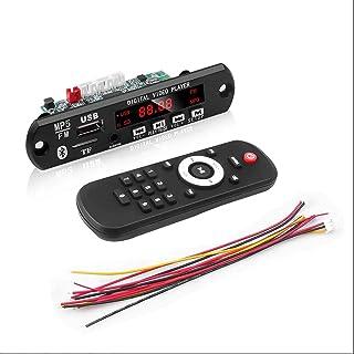 USDWR Hands-Free MP3 Player Decoder,Bluetooth USB mp3 Player fm transmitters FM Radio Lossless MP3/WMA/WAV/FLAC/APE Decode...