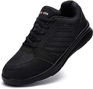 Ziboyue Chaussure de Sécurité Hommes Femmes Imperméable Léger en Acier Orteil Chaussures de Travail Respirant Baskets De S...