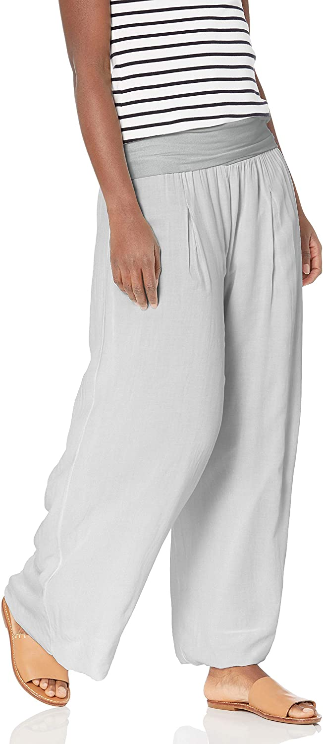 M Made in Italy Women's Maxi Leg Pants Challenge the lowest price low-pricing of Japan ☆ Wide