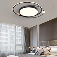 LED Ceiling Lamp for Bedroom, Modern Simplicity Round LED Ceiling Lighting Fixture for Living Room Dining Room Decorative ...