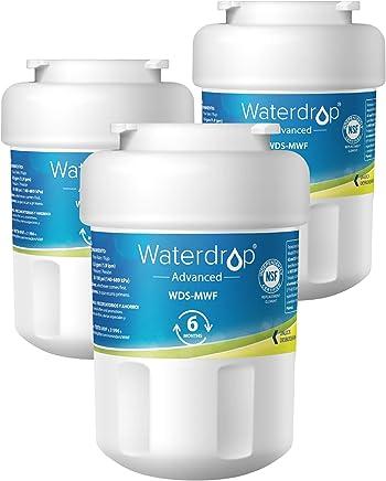 Waterdrop UKF8001 Refrigerator Water Filter, Compatible with Maytag UKF8001, UKF8001AXX-750, UKF8001AXX-200, Whirlpool 4396395, 469006, EveryDrop Filter 4, PUR, Puriclean II, EDR4RXD1