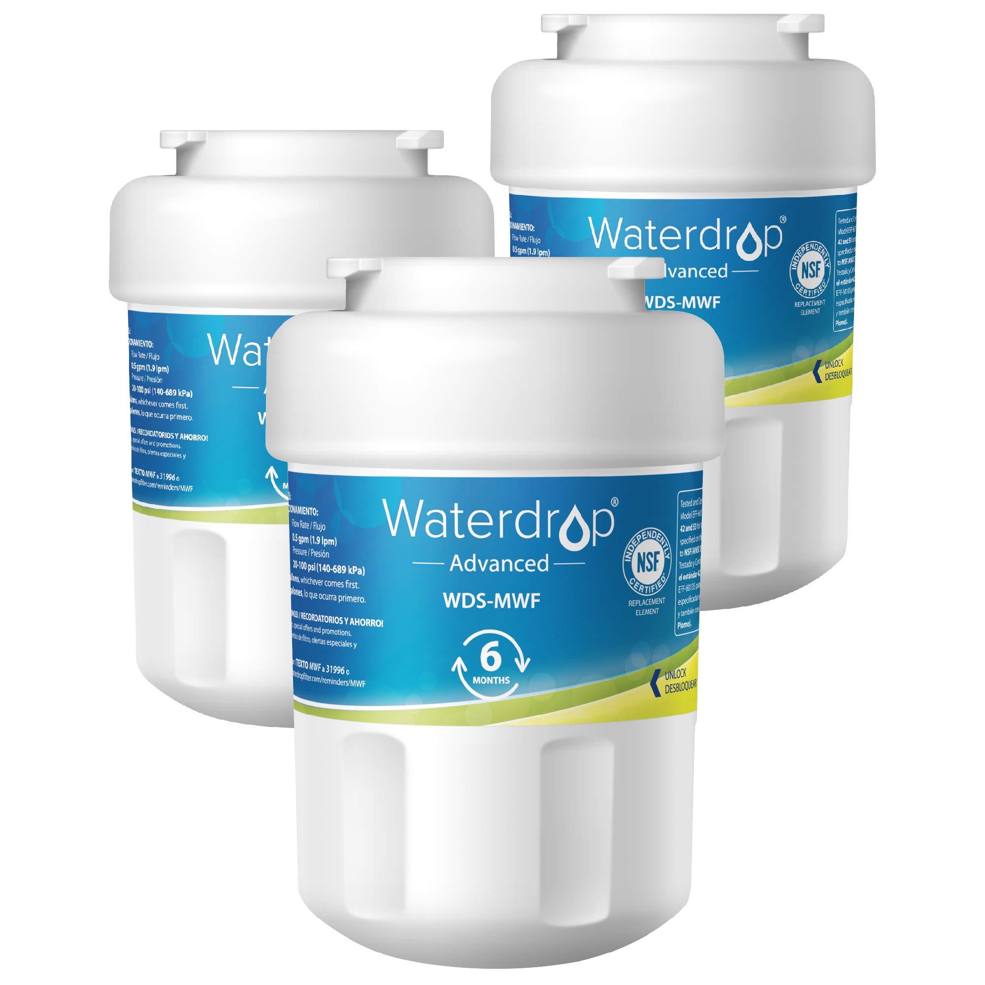 Waterdrop Replacement Refrigerator Compatible SmartWater