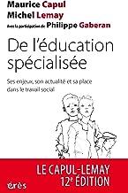 Livres De l'éducation spécialisée (NE): Ses enjeux, son actualité et sa place dans le travail social (L'éducation spécialisée au quotidien) PDF