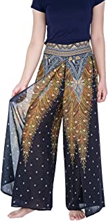 Womens Wide Leg Trousers Palazzo Pants S M L XL Sizes