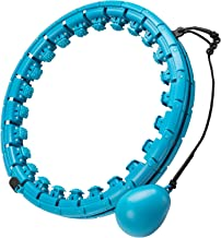 Smart Hula Hoop banden voor volwassenen, met gewicht, 24 articuliere, smart fitnessbanden met massagenoppen, smart hoela-b...