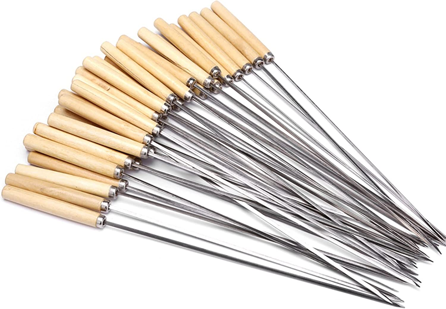 half Outdoor BBQ Tool 20 Pieces Set Skewers free with Barbecue of Wooden H