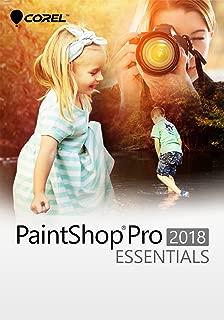 Corel PaintShop Pro Essentials for PC [Key Card] - Amazon Exclusive