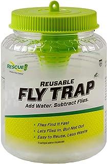 RESCUE! Non-Toxic Reusable Fly Trap (0.19 Pounds, 15.7 x 10.2 x 10.2cm)