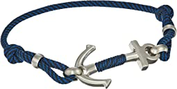 Nylon Multi-Strand Cord Bracelet with Slider Closure