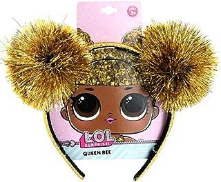 OL LOL Queen Bee Tinsel Pom Headband