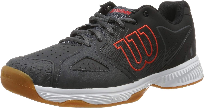tenistas de Cualquier Nivel Hombre Wilson Kaos Devo Carpet Zapatilla de Tenis para Pistas de Interior