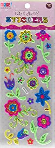 Stickers Flowers Collection, Multi Color