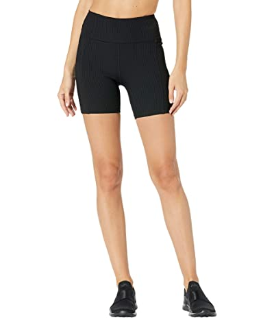 YEAR OF OURS Ribbed Shorts (Black) Women
