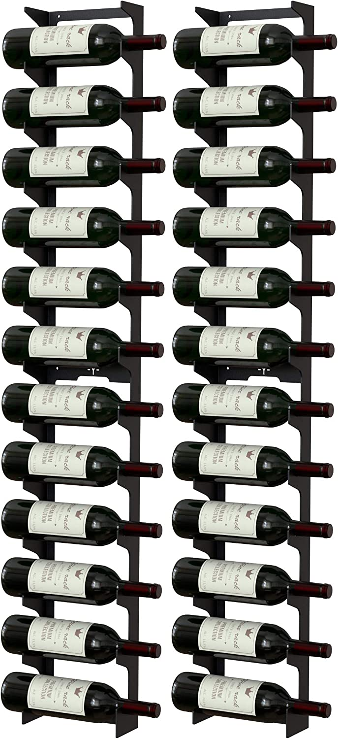 NEW Y-Furniture Wall Series - Mounted Steel Wine Label Rack Vie A surprise price is realized