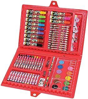 Maleta para Pintura Licenciada Minnie Completa Plastica - 01 Unidade Molin, Multicor