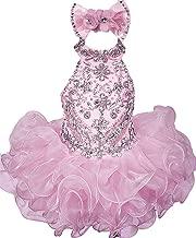 Junguan Baby Girls Birthday Party Dress Toddler Kids Cupcake Pageant Dress Mini172