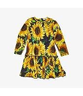 Sunflower Print Modal Dress (Infant)