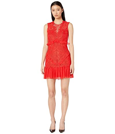 Bardot Francesca Dress (Fire Red) Women
