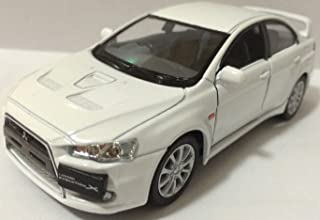 KiNSMART 1:36 Scale 2008 Mitsubishi Lancer Evo Evolution X diecast CAR Model 5