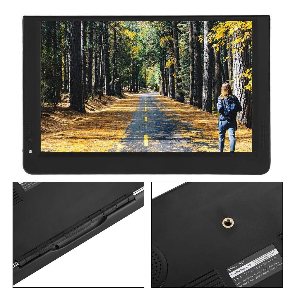 Qinlorgo Televisor Digital portátil de 12 Pulgadas, Mini ...