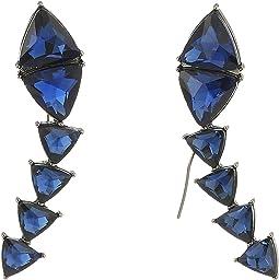 Steve Madden - Triangle Threader Earrings