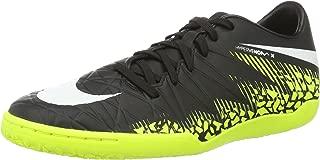 Nike Men's Hypervenom Phelon II IC Indoor Soccer Shoe (Sz. 10 D(M) US) Black, Volt