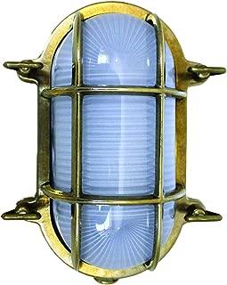 Weems & Plath Oval Bulkhead Light (110-Volt)