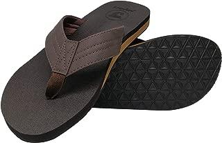 Mens Yoga Foam Flip Flops Arch Support Slip on Thong Sandals Summer Beach Shoes