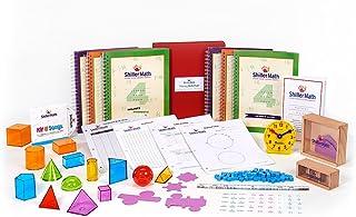 ShillerMath Kit II - Homeschool Montessori Math Curriculum - (4th Grade to Pre-Algebra)