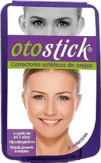 Otostick Cosmetic Ear Corrector - Solves Big Ear Problem (8u) - Best Alternative Short of Surgery - Spanish Box
