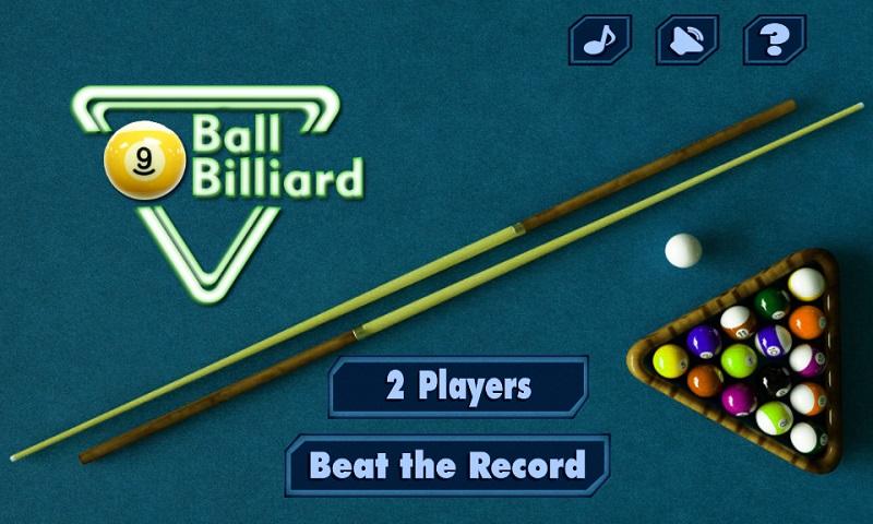 9 bolas de billar