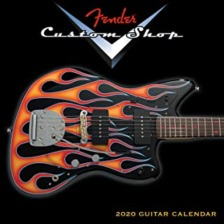 Mini Calendar 2020 Fender Custom Shop Guitar