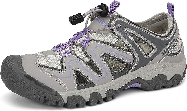Mens Womens Athletic Hiking Sandal Outdoor Closed 超目玉 最新 Walking Toe Wa