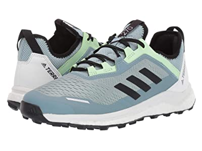 adidas Outdoor Terrex Agravic Flow (Ash Grey/Black/Glow Green) Women