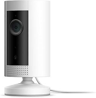 Ring Indoor Cam, compacte plug-in-HD-beveiligingscamera met tweeweg-audio | Inclusief proefabonnement van 30 dagen op Ring...