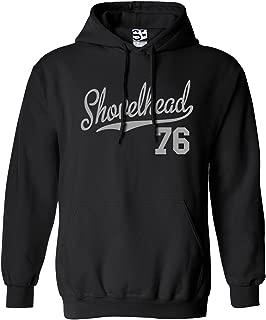 Shirt Boss Unisex Shovelhead 76 Script & Tail HOODIE