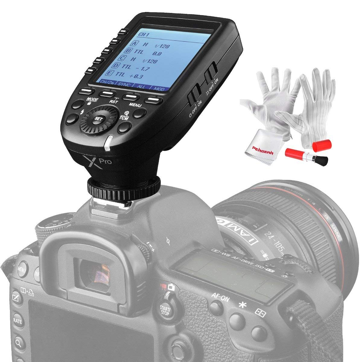 Godox Xpro N TTL Convert Manual PERGEAR Cleaning
