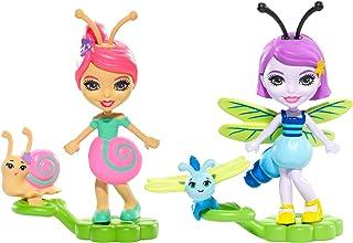 Enchantimals 2-Pack Saxon Snail & Dara Dragonfly Micro Dolls