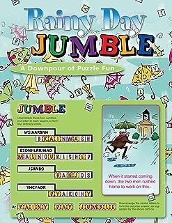 Rainy Day Jumble®: A Downpour of Puzzle Fun (Jumbles®)