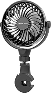 OPOLAR 2019 New Mini Car USB Fan with Multi-Directional Hook, High Airflow, Four Speeds, 360° Rotation, Personal Cooling V...