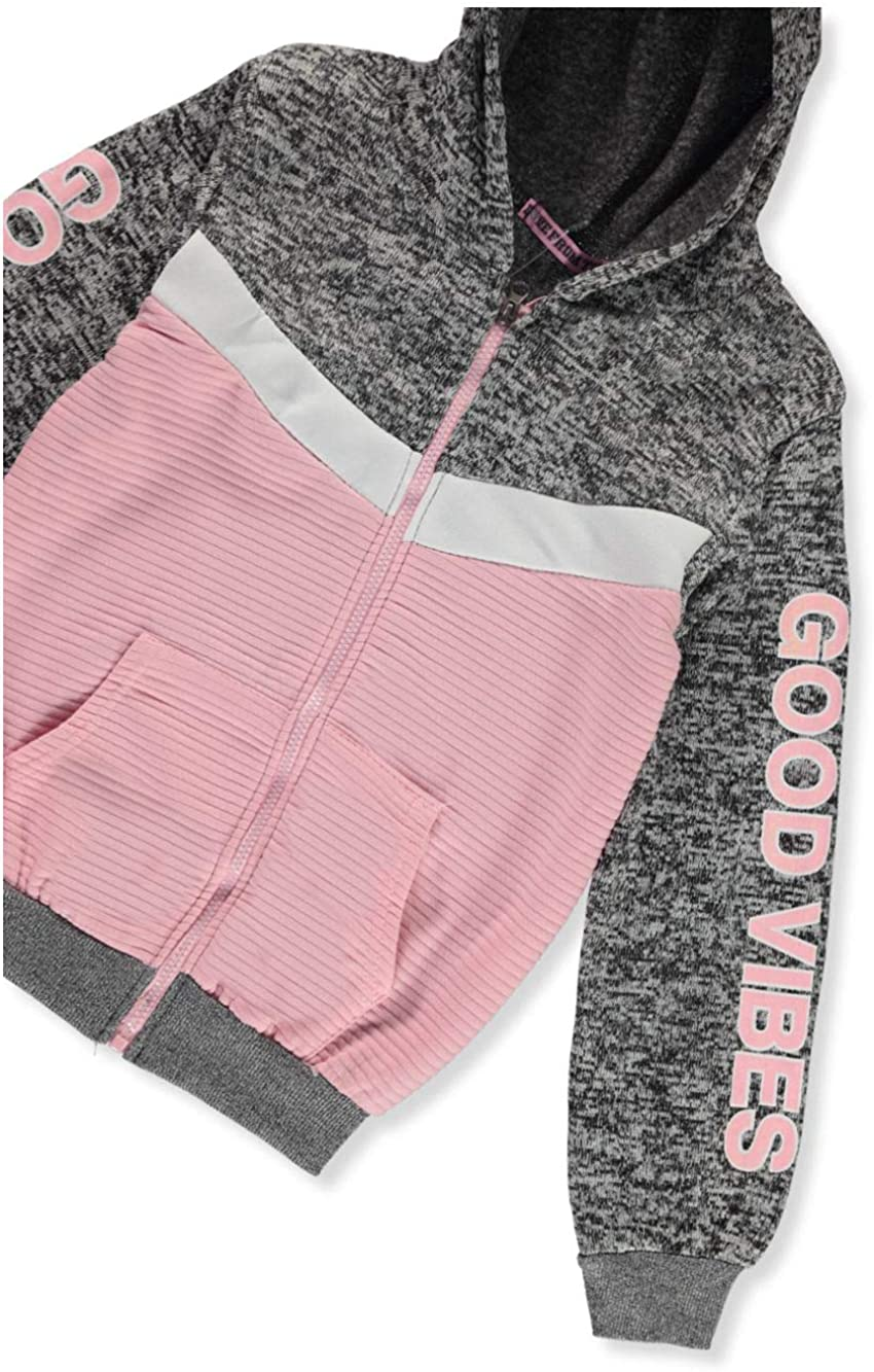 Coney Island Girls Good Vibes 2-Piece Sweatsuit Outfit