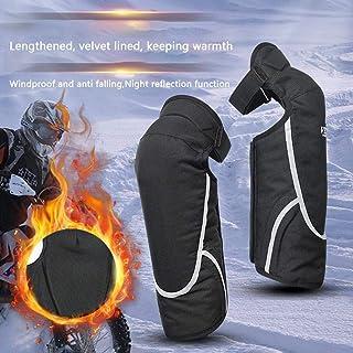 equipaggiamento Protettivo per Moto per Vento Invernale Motociclista da Neve Yunt-11 Ginocchiere Calde a Doppio Strato a Gamba Intera Gambali Antivento ispessiti ghetta coprigambe