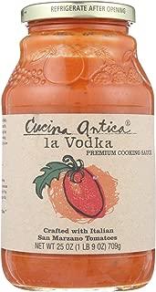 Cucina Antica La Vodka Cooking Sauce - Case of 12 - 25 oz.