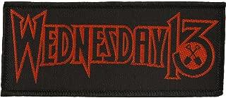 Wednesday 13 Men's Logo Woven Patch Black