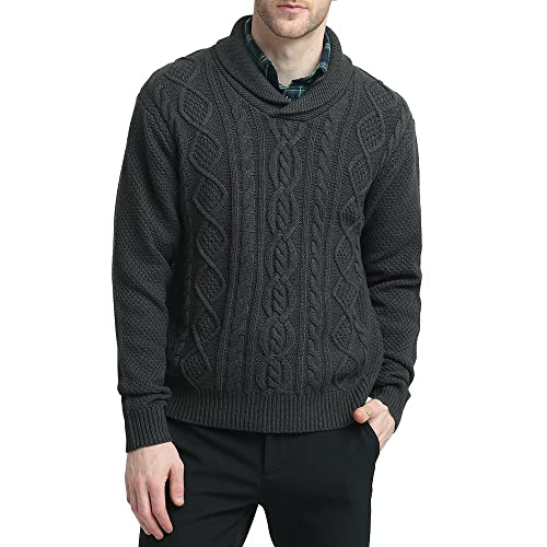 Mens Fisherman Sweater Amazoncom