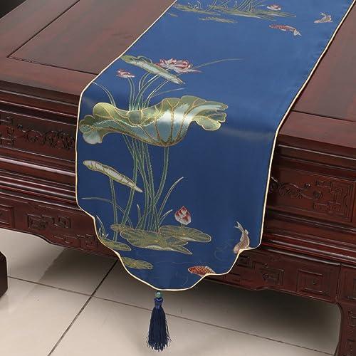 CJANY Klassisch Europ ch Modern Runde Tischdecke Tischl er Rustikale Hochzeit Home Decor,A-33  270cm