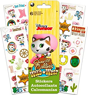 Disney Sheriff Callie Stickers Party Favors ~ Activity Book with Over 100 Reward Stickers